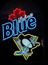 Neon Signs Labatt Blue PP Team Beer Bar Pub Store Party Homeroom Decor 24X20
