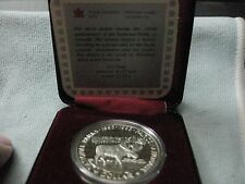 1985 CANADA PROOF .500 SILVER DOLLAR NATIONAL PARKS / WITH CLAM CASE #2