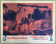Burt Lancaster VERA CRUZ R1960s #2 Lobby Card 315