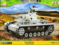 COBI Panzer III Ausf. E (2523) - 470 elem. - WWII German medium tank