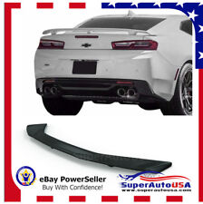 For 16-2018 Chevy Camaro RS SS ZL1 3-POST  Rear Trunk Spoiler Wing Painted white