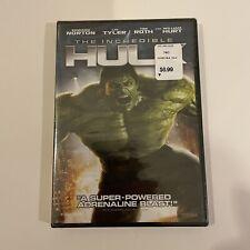 The Incredible Hulk (Dvd) Brand New *Sealed*