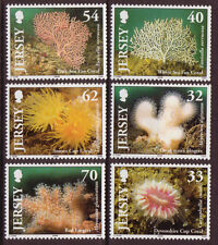 JERSEY 2004 MARINE LIFE CORALS UNMOUNTED MINT, MNH