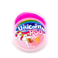 Magical Unicorn Poo Pink Slime Putty Squishy Tub Kids Girls Party