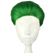 Batman Cosplay Costume Suiscide Squad Joker Wig Short Green Hair Wig Halloween