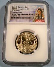 2019-S NGC SP70 SACAGAWEA DOLLAR ENHANCED COIN MARY ROSS $1 SP 70