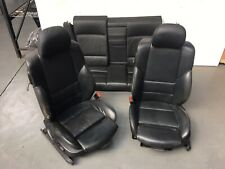 BMW E46 3 series COUPE Electric Memory Black SPORT Leather Seats