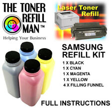 Toner Refill Kit For Use In Samsung CLP-415N Printer Cartridges Type 415 Toner