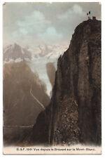 CPA 74 - CHAMONIX(Haute Savoie) - 1991. Vue depuis le Brévent sur le Mont-Blanc