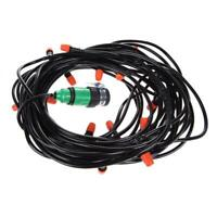 Automatic Watering Garden Hose Micro Drip Irrigation System Kit with Nozzle AU