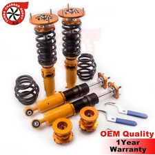 For BMW E46 3 Series Coilover Coilovers Absorber Strut 98-06 Adjustable Height