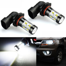 JDM ASTAR High Power 50W Extremely Bright 9005 HB3 LED FOG Lights Bulbs White 2X