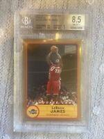 2003-04 Topps Bazooka Gold #223 LeBron James Cavaliers RC Rookie BGS 8.5