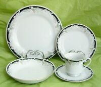 5 CROWN MING FINE CHINA JIAN SHIANG MICHELLE DINNER PLATE SALAD BOWL CUP SAUCER