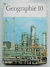 DDR Geographie Lehrbuch Klasse 10 Schulbuch 1971 6. Auflage RGW Staaten, Karte