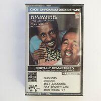 Milt Jackson Ray Brown Jam Montreux '77 (Cassette)