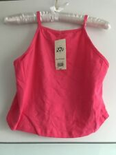 Deisgner MISS SELFRIDGE Womens Top/ Cropped/ Vest/ Cami/ Strappy/ Pink/ Size 12