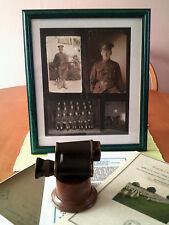 5 ITEM SET/WW1 VIMY RIDGE/WW2 SEALION/OPTICAL EQUIPMENT/HOME GUARD/CANADIAN ARMY