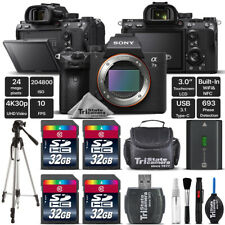Sony Alpha a7 III Mirrorless Digital Camera + Extended Warranty - 128GB Bundle