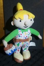 "12"" Bob the Builder Wendy Plush Doll 2006 Painter Paintbrush Splatter FREE SHIP!"