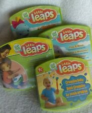 Leap Frog Baby Little Leaps Get All 4 interactive learning discs for Dvd play