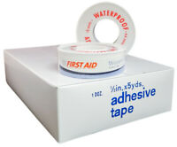 "American White Cross Waterproof Adhesive First Aid Tape 1/2"" x 5 yards 6 Rolls"