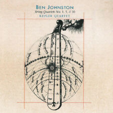 Ben Johnston : Ben Johnston: String Quartets Nos. 1, 5 & 10 CD (2011) ***NEW***
