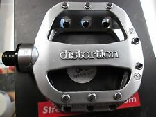 "DK Distortion BMX BIKE PEDAL 1 Right Side Only Alloy Silver 9/16"" SE GT S&M NEW"