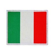 Country Flag Italy Travel Souvenir Woven Badge Applique Patch Italian Italia