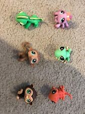 Lps Jungle Rainforest 6 Pack Frog Lizard Monkey Spider