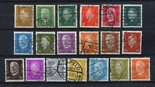 German Reich : Large German President set from 1928 - used