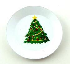 Puppenhaus Weihnachtsbaum Platte Miniatur Küche Esszimmer Tisch Zubehör