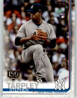 2019 Topps Series 2 STEPHEN TARPLEY 150th Anniversary Parallel Yankees RC #504