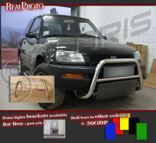 TOYOTA RAV4 94-00 BULL BAR WITHOUT AXLE BARS / STAINLESS STEEL!!