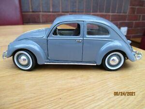 MAISTO VOLKSWAGEN EXPORT SEDAN 1951 VW GREY GRAY 1:18 SCALE SPECIAL EDITION