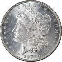 1878 7TF Rev 78 $1 Morgan Silver Dollar US Coin BU Uncirculated Mint State