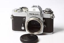 Nikon el2 Reflex SLR Fotocamera Chassis Body Argento