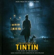 The Adventures of Tintin: The Secret of the Unicorn by John Williams (CD 2011)