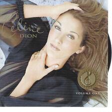 87 // CELINE DION VOLUME ONE BEST OF CD NEUF SOUS BLISTER