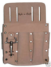 Style n Craft  94126 - Electrician's Tool Pouch in Heavy Top Grain Leather