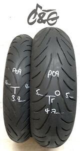 Bridgestone Battlax T31 120/70zr17 & 190/55zr17   Pair Part Worn Tyres P09