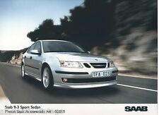 PRESS - FOTO/PHOTO/PICTURE - SAAB 9-3 Sport Sedan AB-02011