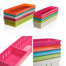 Drawer Storage Organizer Home Kitchen Cutlery Partition Divide Cabinet Newest