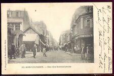 cpa 92 Bois-Colombes . rue des Bourguignons . 1901