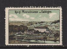 403266/ Reklamemarke - Königl. Mineralbrunnen zu Fachingen - **