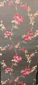 Fabric Touch Floral Textured, Wallpaper