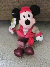 "The Disney Store Mini Bean Bag Romeo Mickey Mouse 8"""