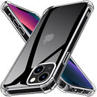 Clear Shockproof Bumper Case For iPhone 13 12 Pro Max Mini 11 Pro SE XR XS 8 7 6