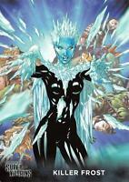 KILLER FROST / DC Comics Super-Villains (Cryptozoic 2015) BASE Trading Card #37