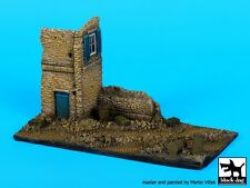 Black Dog 1:72 Ruined Italian House Section Resin Vignette Diorama Base #D72029